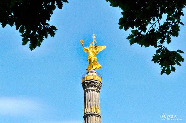 """Berlin-Tiergarten - Siegessäule (""""Goldelse"""")"""