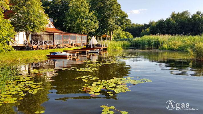 Immobilienmakler Kremmen - seeLodge mit Bootsverleih
