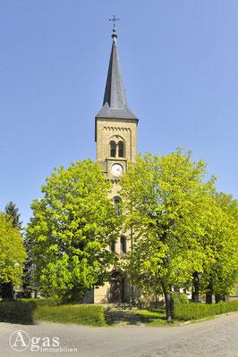 Mühlenbeck - Turm der evgl. Dorfkirche