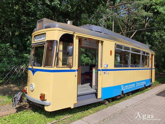 Immobilienmakler Berlin-Rahnsdorf - Historischer Straßenbahnwagen