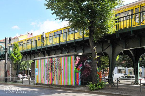 Prenzlauer Berg - U-Bahn in der Schönhauser Allee