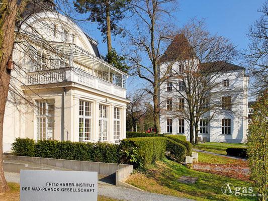 Immobilienmakler Berlin-Dahlem - Fritz-Haber-Institut der Max-Planck-Gesellschaft, Garten