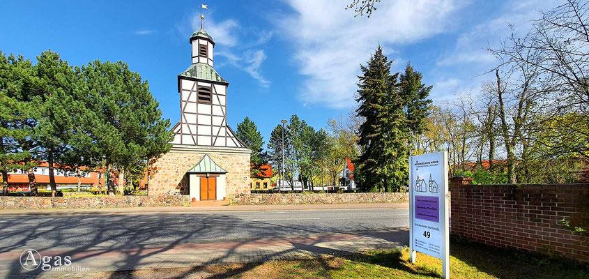 Immobilienmakler Blankenfelde-Mahlow - Ev. Dorfkirche Blankenfelde/Jühnsdorf
