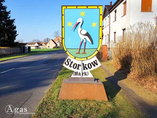 Makler Storkow - Wappen der Stadt Storkow