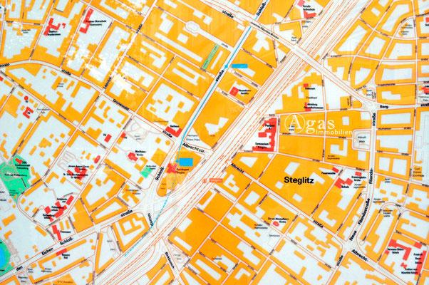 Berlin-Steglitz - Stadtplan