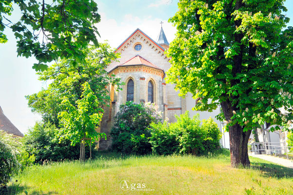 Woltersdorf - Ev. St.-Michael-Kirche (Chorseitig)