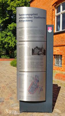 Immobilienmakler Altlandsberg - Sanierungsgebiet «Historischer Stadtkern» Altlandsberg