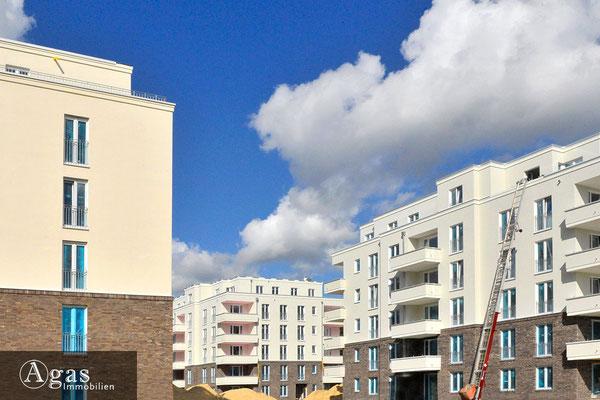 Brunnen Viertel Potsdam - Quartierseinblick in der Brunnenallee