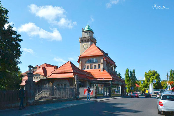 Immobilienmakler Frohnau - S-Bahn Berlin-Frohnau Zeltinger Platz