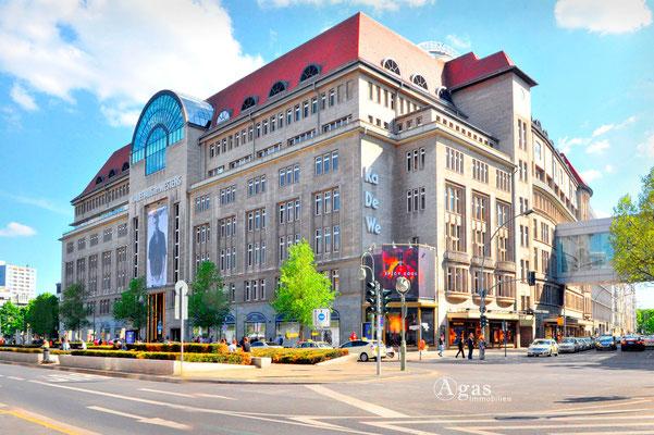 Berlin-Charlottenburg - KaDeWe Kaufhaus des Westens
