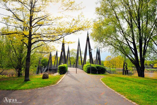 Berlin-Britz - Britzer Garten, Rhizomatische Brücke