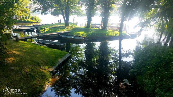 Immobilienmakler Marquardt-Potsdam - Badewiese im Schlosspark
