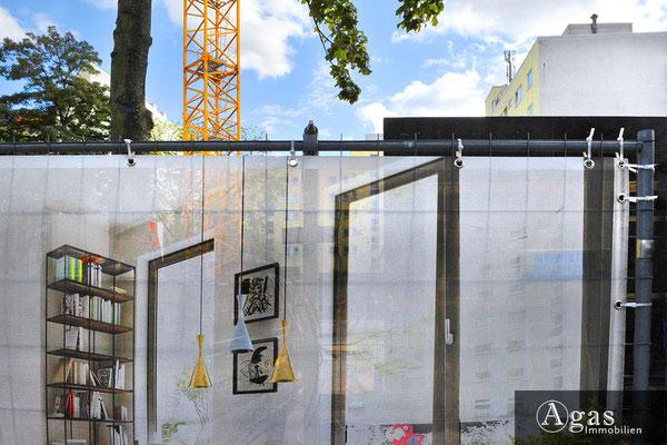 Uhland 103 Berlin - Wilmersdorf - Baustellenimpression an der Uhlandstraße