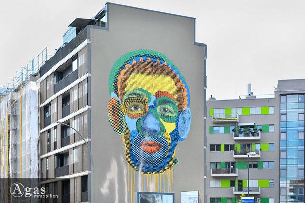 Heine Höfe Berlin-Mitte - Kunst am Bau - Heinrich-Heine-Straße
