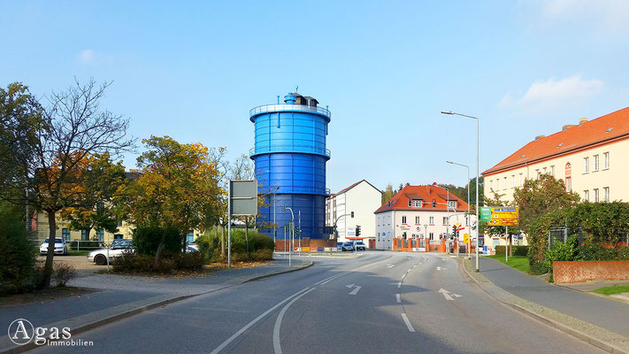Bernau - Gasometer von Bernau