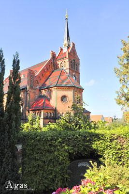 Potsdam-Golm - Die neugotische Ev. Kaiser-Friedrich-Kirche (4)