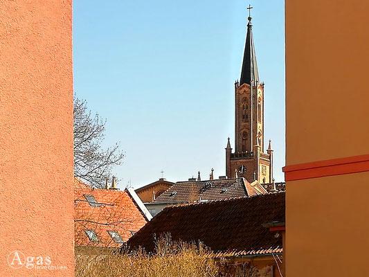 Immobilienmakler Fürstenberg - Blick zur Stadtkirche