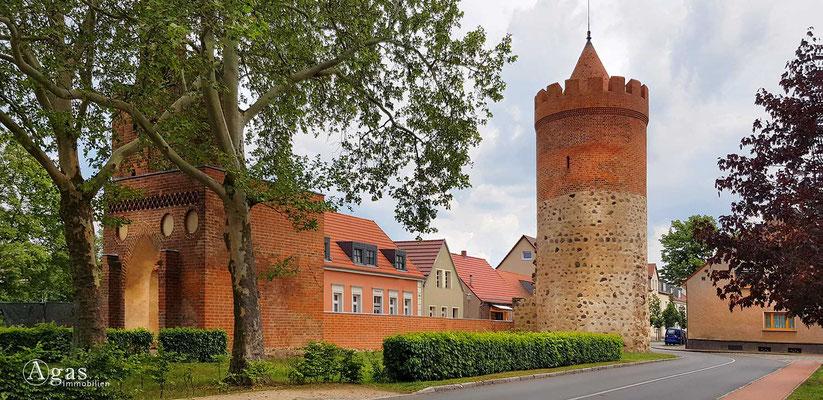 Immobilienmakler Mittenwalde - Am Pulverturm mit altem Stadttor