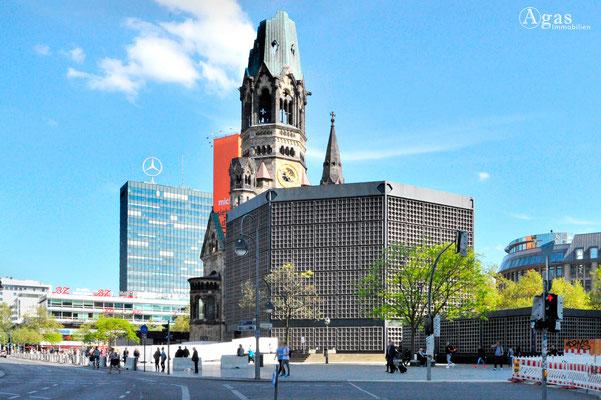 Berlin-Charlottenburg - Kaiser-Wilhelm-Gedächtnis-Kirche & Europa-Center