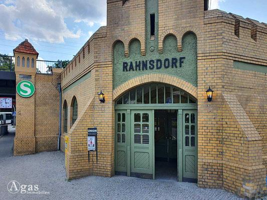Immobilienmakler Berlin-Rahnsdorf - S-Bahn Rahnsdorf