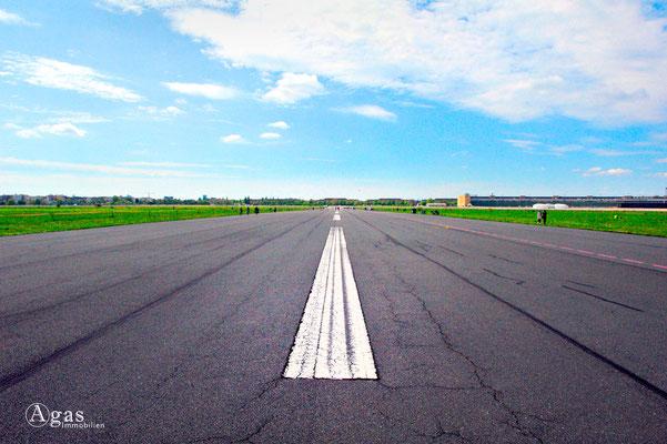 Berlin-Tempelhof - ehemal. Flughafen Tempelhof, Start- und Landebahn