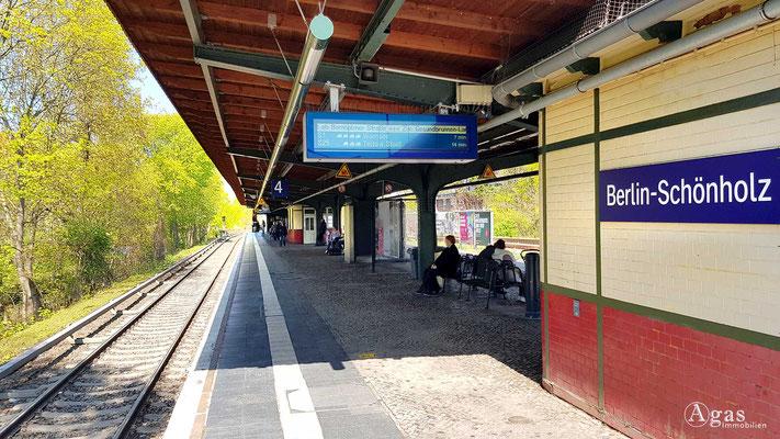 Immobilienmakler Berlin-Schönholz - S-Bahn Schönholz