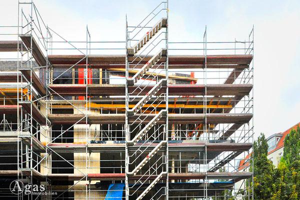 Nio Skandinavisches Viertel - Baufortschritte in der Malmöer Straße
