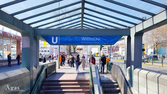 Immobilienmakler Berlin-Wittenau - U-Bhf Wittenau am Wilhelmsruher Damm