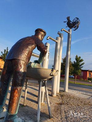 Immobilienmakler Bestensee - Skulptur