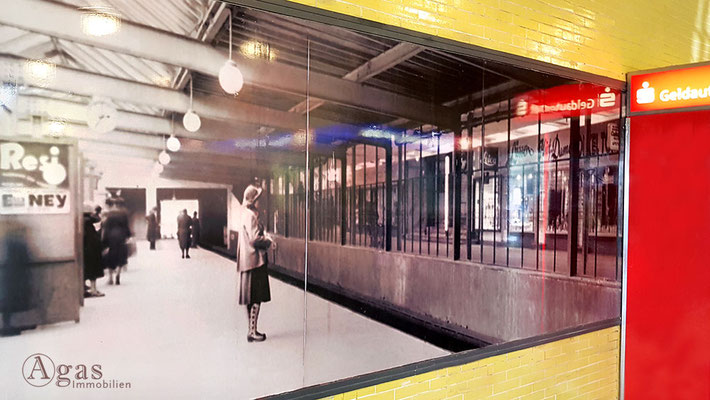 Onkel Toms Hütte - U-Bahnstation um 1952