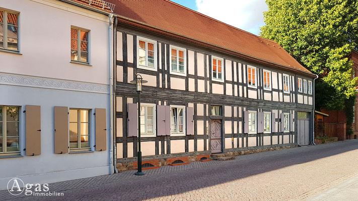 Immobilienmakler Gransee - Fachwerkhaus in der Baustrasse