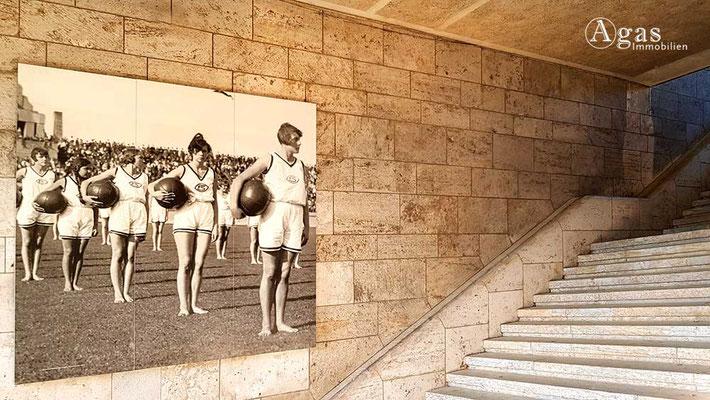 Berlin-Westend - Historische Fotografie der Olypischen Spiele