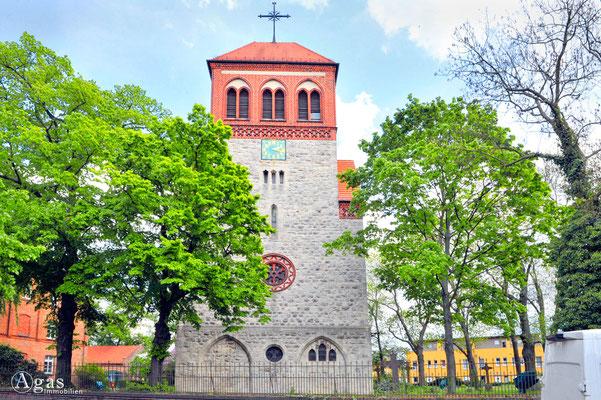 Berlin-Rosenthal - Dorfkirche Berlin-Rosenthal (1)