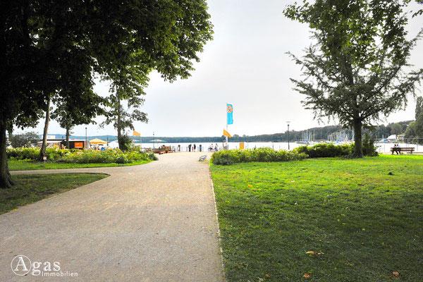 Müggelpark Friedrichshagen zur Uferpromenade