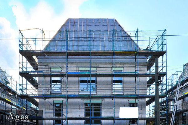 Villen im Prinzenviertel - Berlin-Lichtenberg - Baufortschritte in der Lehndorffstraße