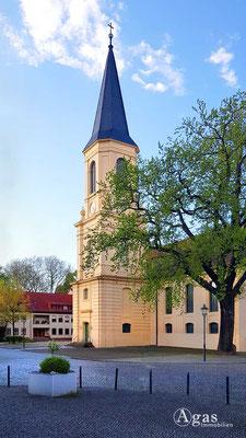 Immobilienmakler Zossen - Die barocke Dreifaltigkeitskirche