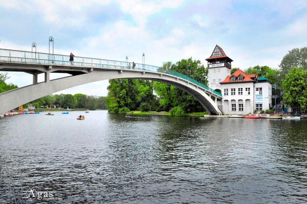 Berlin-Treptow - Insel Berlin - Insel der Jugend (ehemal. Abteiinsel)