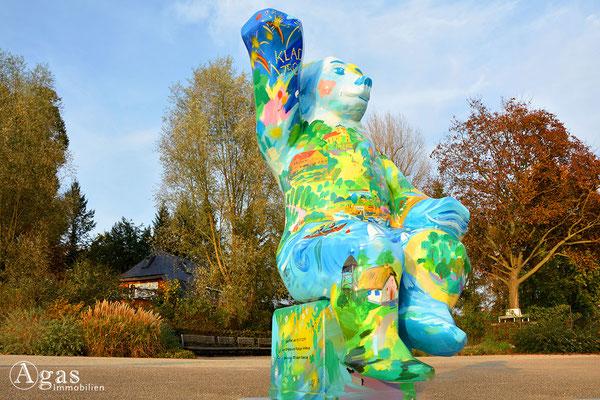 Berlin-Kladow - Berliner Buddy Bär. Gestiftet zur 750 Jahrfeier von Kladow