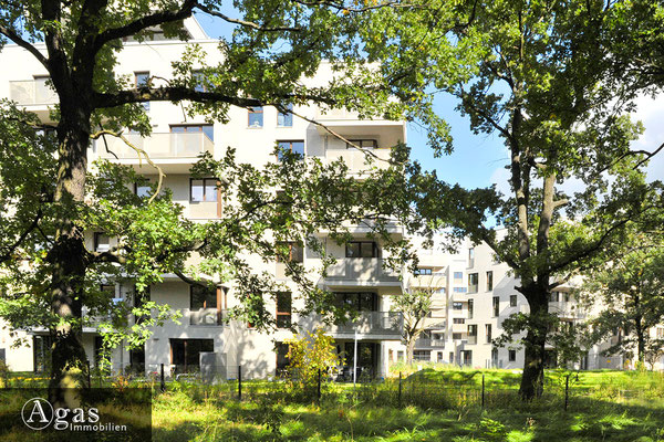 Am Carlsgarten - Parkseitig