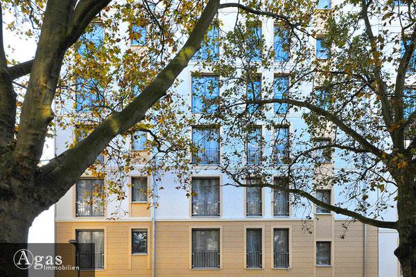 Park Carré Wilmersdorf  - Fassadenansicht in der Durlacher Straße
