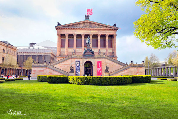 Berlin-Mitte, Alte Nationalgalerie auf der Museumsinsel