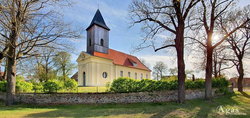 Immobilienmakler Trebbin - Dorfkirche Märkisch-Wilmersdorf