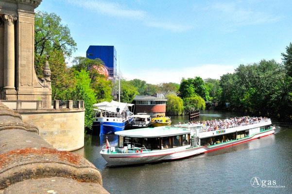 Berlin-Tiergarten - Am Charlottenburger Tor, Landwehrkanal
