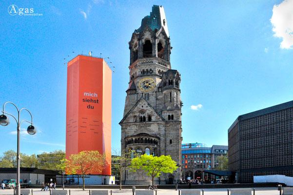 Berlin-Charlottenburg - Kaiser-Wilhelm-Gedächtnis-Kirche