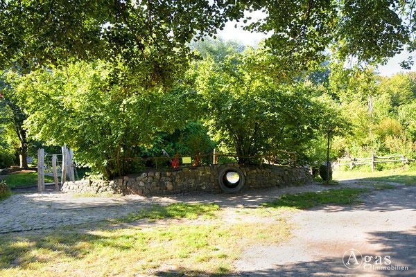 Schöneiche - Kleiner Spreewaldpark am Fredersdorfer Mühlenfließ