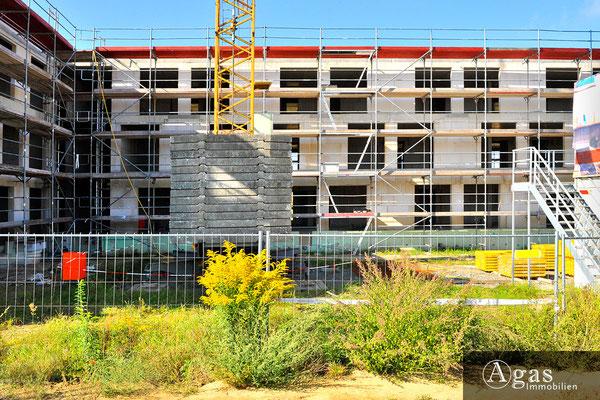 Zum großen Herzberg - Potsdam-Golm - Baustellenimpression