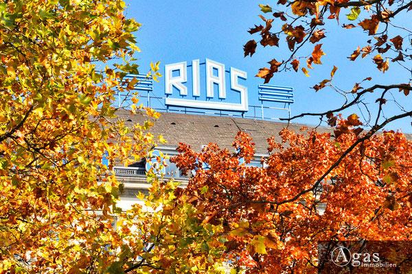 Park Carré Wilmersdorf  - Deutschlandradio in Ihrer Nachbarschaft (Gebäude ehem. RIAS Berlin)