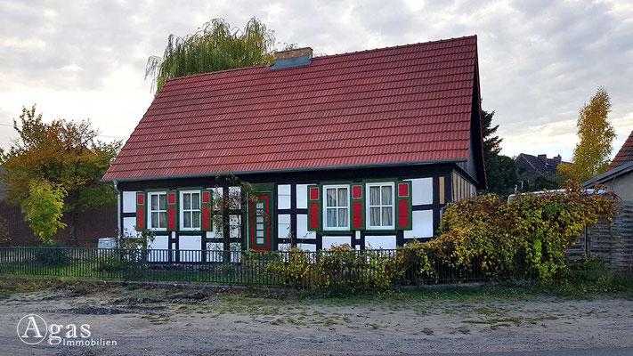 Makler Klosterfelde - Historisches einstöckiges Wohnhaus