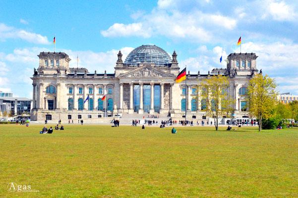 Berlin-Mitte-Tiergarten - Reichtstagsgebäude, Deutscher Bundestag