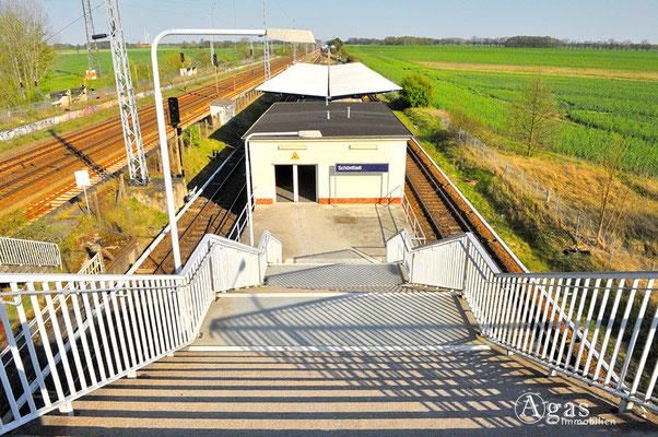 Schönfließ - S-Bahn Station Schönfließ